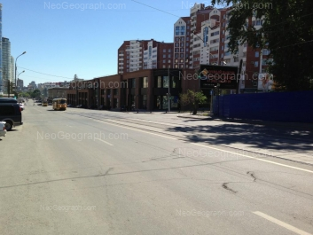 На фото видно: Радищева улица, 25; Радищева улица, 31. Екатеринбург (Свердловская область)