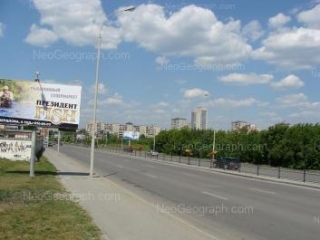 View to: Lunacharskogo street, 225; Tkachei street, 16а. Yekaterinburg (Sverdlovskaya oblast)