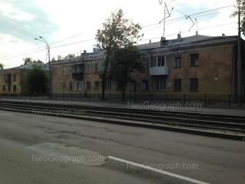 View to: Bakinskikh Komissarov street, 32. Yekaterinburg (Sverdlovskaya oblast)