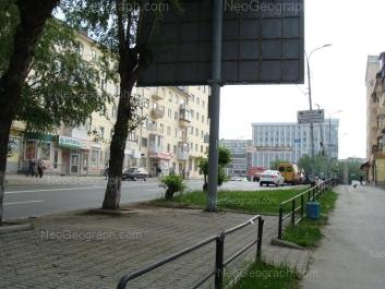 View to: Sibirskiy trakt street, 3; Dekabristov street, 2 (Отделение Центра регистрации граждан Октябрьского района Екатеринбурга); Dekabristov street, 4. Yekaterinburg (Sverdlovskaya oblast)