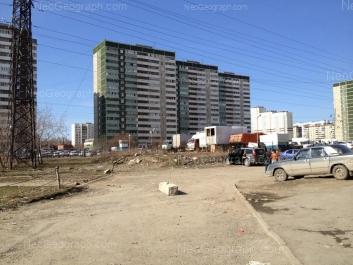 View to: Sedova avenue, 17; Sedova avenue, 17/1; Sedova avenue, 17/2; Sedova avenue, 23; Sedova avenue, 26; Tavatuiskaya street, 1г; Tekhnicheskaya street, 24. Yekaterinburg (Sverdlovskaya oblast)