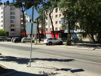 View to: Popova street, 9; Khokhriyakova street, 18. Yekaterinburg (Sverdlovskaya oblast)