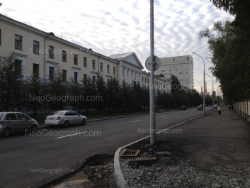 View to: Sophi Kovalevskoy street, 16; Sophi Kovalevskoy street, 18. Yekaterinburg (Sverdlovskaya oblast)