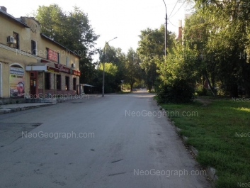 View to: Danilovskaya street, 10. Yekaterinburg (Sverdlovskaya oblast)