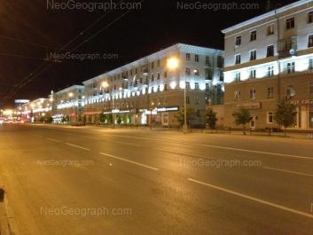 View to: Azina street, 41; Sverdlova street, 34; Sverdlova street, 56; Sverdlova street, 58. Yekaterinburg (Sverdlovskaya oblast)