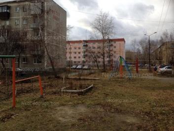 View to: Beloyarskaya street, 36; Pribaltiyskaya street, 35. Yekaterinburg (Sverdlovskaya oblast)