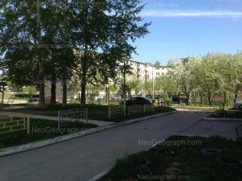 View to: Bisertskaya street, 22. Yekaterinburg (Sverdlovskaya oblast)