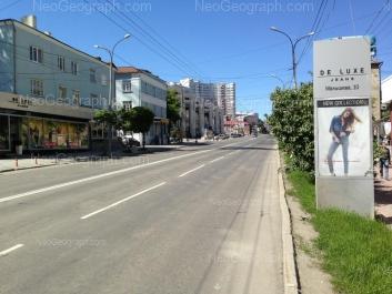 View to: Malisheva street, 4Б; Malisheva street, 6; Malisheva street, 8 (Интерьерный центр Архитектор); Malisheva street, 10/1; Malisheva street, 10. Yekaterinburg (Sverdlovskaya oblast)