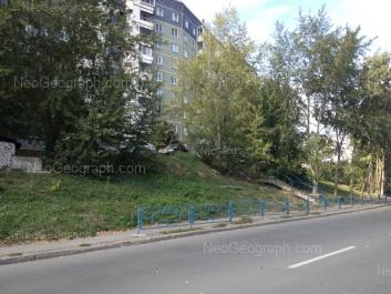 View to: Anni Bichkovoi street, 22. Yekaterinburg (Sverdlovskaya oblast)