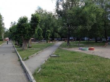 View to: Industrii street, 24. Yekaterinburg (Sverdlovskaya oblast)