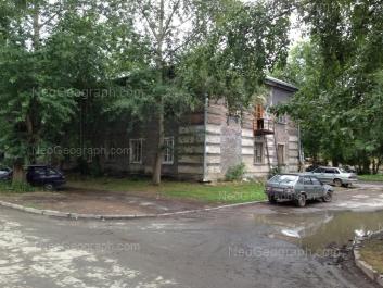View to: Narodnogo fronta street, 64. Yekaterinburg (Sverdlovskaya oblast)
