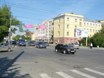 На фото видно: Фурманова улица, 38; Фурманова улица, 48. Екатеринбург (Свердловская область)