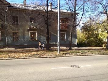 View to: 40-letiya Oktiabrya street, 47. Yekaterinburg (Sverdlovskaya oblast)