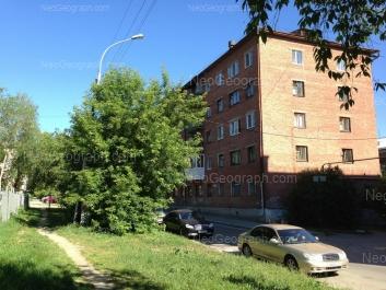 View to: Bannikova street, 6. Yekaterinburg (Sverdlovskaya oblast)