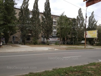 На фото видно: Щорса улица, 36; Щорса улица, 38/1. Екатеринбург (Свердловская область)