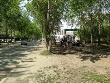На фото видно: Пехотинцев улица, 9; Пехотинцев улица, 10. Екатеринбург (Свердловская область)