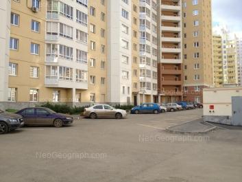 View to: Surikova street, 53; Surikova street, 55. Yekaterinburg (Sverdlovskaya oblast)