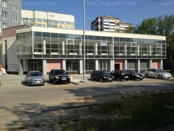 View to: Kalinina street, 3; Kalinina street, 6; Kuznetsova street, 7. Yekaterinburg (Sverdlovskaya oblast)