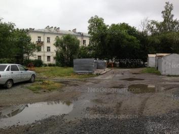 View to: Ordzhonikidze avenue, 23. Yekaterinburg (Sverdlovskaya oblast)
