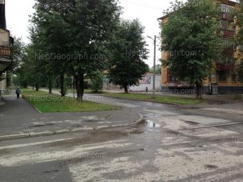 View to: Kalinina street, 65. Yekaterinburg (Sverdlovskaya oblast)