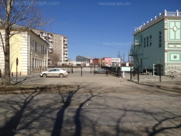 View to: Avtomagistralnaya street, 4а; Avtomagistralnaya street, 4; Pekhotintsev street, 21; Pekhotintsev street, 23; Pekhotintsev street, 25. Yekaterinburg (Sverdlovskaya oblast)