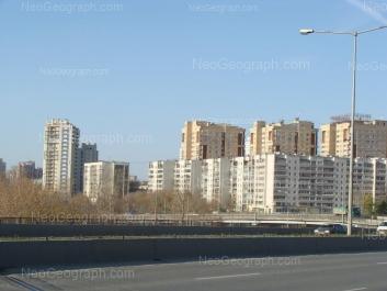 View to: Belinskogo street, 177; Belinskogo street, 179; Onezhskaya street, 4а; Onezhskaya street, 6а; Onezhskaya street, 8а; Onezhskaya street, 12. Yekaterinburg (Sverdlovskaya oblast)