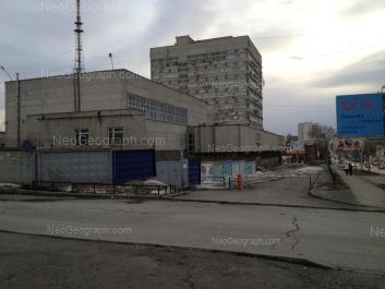 View to: Lunacharskogo street, 203; Lunacharskogo street, 210. Yekaterinburg (Sverdlovskaya oblast)