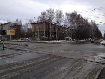 View to: Manevrovaya street, 13; Tekhnicheskaya street, 76; Tekhnicheskaya street, 78. Yekaterinburg (Sverdlovskaya oblast)