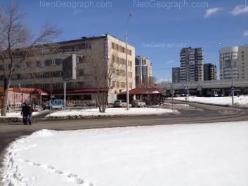 На фото видно: Посадская улица, 79; Шейнкмана улица, 128; Шейнкмана улица, 130; Шейнкмана улица, 134А. Екатеринбург (Свердловская область)