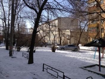 View to: Akademicheskaya street, 24; Komsomolskaya street, 21 (УрГЮА). Yekaterinburg (Sverdlovskaya oblast)
