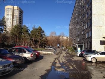 View to: Shaumyana street, 107; Shaumyana street, 109; Shaumyana street, 111. Yekaterinburg (Sverdlovskaya oblast)