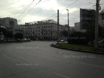 View to: Malisheva street, 76. Yekaterinburg (Sverdlovskaya oblast)