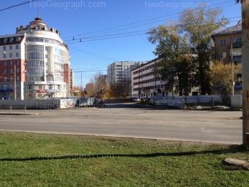 View to: Kosmonavtov avenue, 60; Kosmonavtov avenue, 62; Voikova street, 2; Stachek street, 55. Yekaterinburg (Sverdlovskaya oblast)