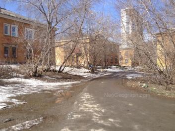 View to: Papanina street, 19; Papanina street, 21; Papanina street, 23; Papanina street, 25. Yekaterinburg (Sverdlovskaya oblast)