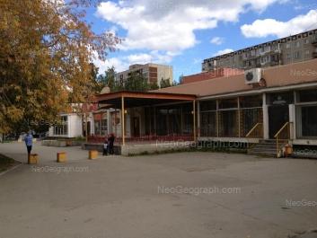View to: Bakinskikh Komissarov street, 112. Yekaterinburg (Sverdlovskaya oblast)