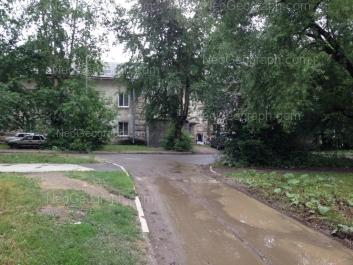 View to: Narodnogo fronta street, 62. Yekaterinburg (Sverdlovskaya oblast)
