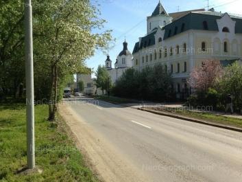 View to: Bisertskaya street, 10А; Bisertskaya street, 12А; Bisertskaya street, 18. Yekaterinburg (Sverdlovskaya oblast)