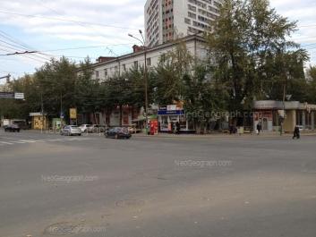 View to: Belinskogo street, 141. Yekaterinburg (Sverdlovskaya oblast)