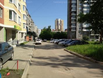 View to: Vilonova street, 22а (ЖСК Оптима); Sadovaya street, 7; Sadovaya street, 9; Sadovaya street, 18 (Средняя школа №165); Sulimova street, 30. Yekaterinburg (Sverdlovskaya oblast)