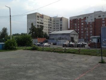 На фото видно: Даниловская улица, 7; Замятина улица, 20. Екатеринбург (Свердловская область)