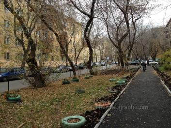 View to: Generalskaya street, 11; Generalskaya street, 15; Pervomaiskaya street, 69; Pervomaiskaya street, 70. Yekaterinburg (Sverdlovskaya oblast)