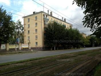 View to: Ferganskaya street, 14. Yekaterinburg (Sverdlovskaya oblast)
