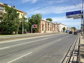 На фото видно: Донбасская улица, 33А; Донбасская улица, 35; Донбасская улица, 37; Донбасская улица, 39. Екатеринбург (Свердловская область)