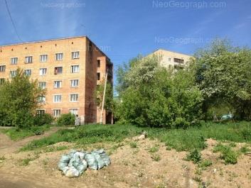 View to: Bisertskaya street, 10; Bisertskaya street, 12. Yekaterinburg (Sverdlovskaya oblast)