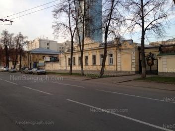 На фото видно: Розы Люксембург улица, 3; Розы Люксембург улица, 5; Розы Люксембург улица, 5В. Екатеринбург (Свердловская область)