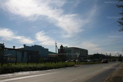 На фото видно: Промышленный проезд, 2б. Екатеринбург (Свердловская область)