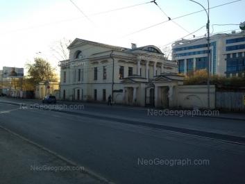 View to: Kuibisheva street, 63; Maksima Gorkogo street, 67 (Межрегиональный центр ОАО Сбербанк России). Yekaterinburg (Sverdlovskaya oblast)