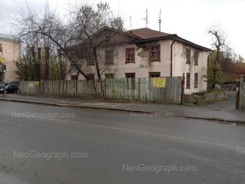На фото видно: Саввы Белых улица, 6; Саввы Белых улица, 10. Екатеринбург (Свердловская область)