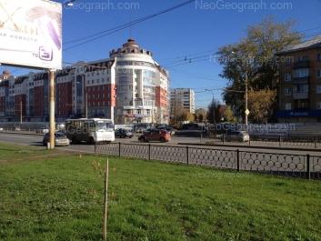 View to: Kosmonavtov avenue, 60; Kosmonavtov avenue, 62; Stachek street, 59. Yekaterinburg (Sverdlovskaya oblast)