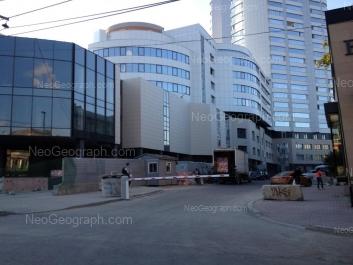 View to: Malisheva street, 71А (Панорама, жилой комплекс); Malisheva street, 71 (ПЖСК Центр-АС). Yekaterinburg (Sverdlovskaya oblast)